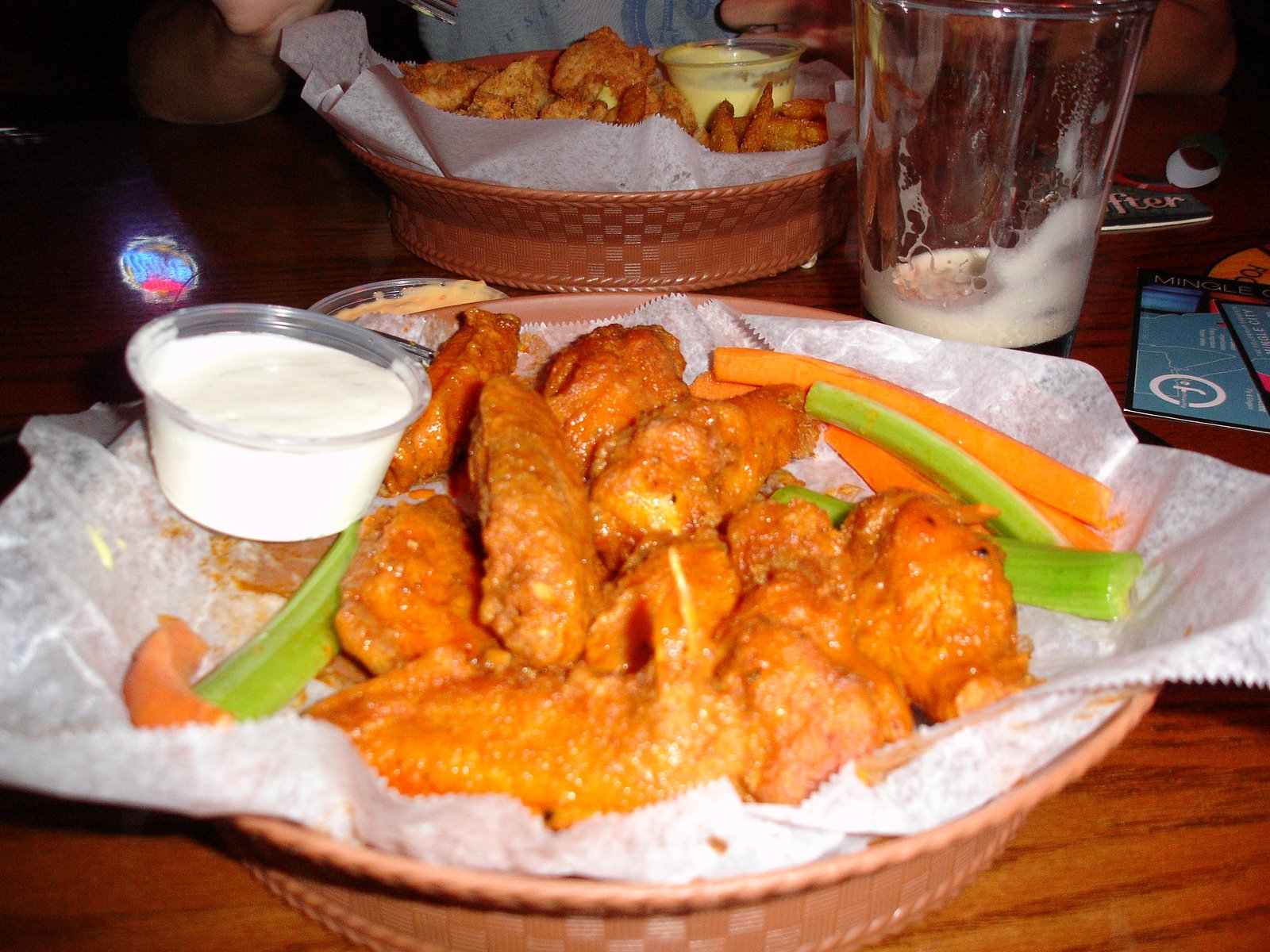 Upon First Bite, I Knew Why They Were Voted #1 Wings In The Triangle. It  Was A Wonderful Blend Of Crispiness From The Fried Batter And The  Tenderness Of The ...
