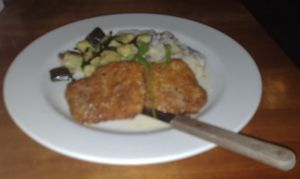 Pork Loin Milanese at 518 West