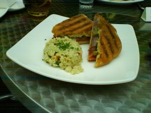 The Italian Sandwich at Nasher Museum Cafe