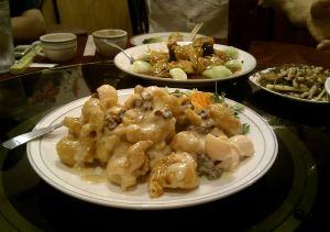 核桃大蝦 Pecan Shrimp