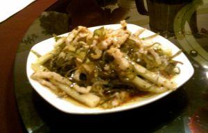 涼拌三丝 Pork, Vegetable, and Cellophane Slices
