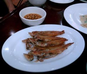 Fried Sardines (煎沙丁)